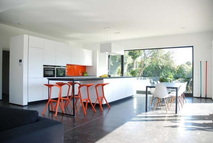 Grande cuisine ouverte sur la pi ce vivre pmaa photo n 25 - Deco piece a vivre avec cuisine ouverte ...