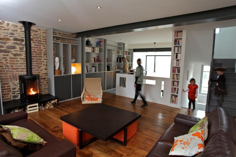 salon moderne etchaleureux - Salon Moderne Etchaleureux