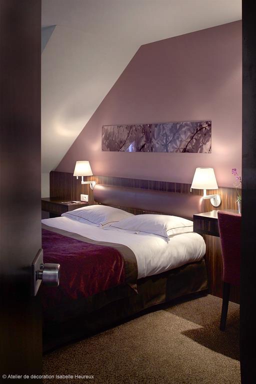 chambre romantique moderne rose » Photos de design d\'intérieur et ...