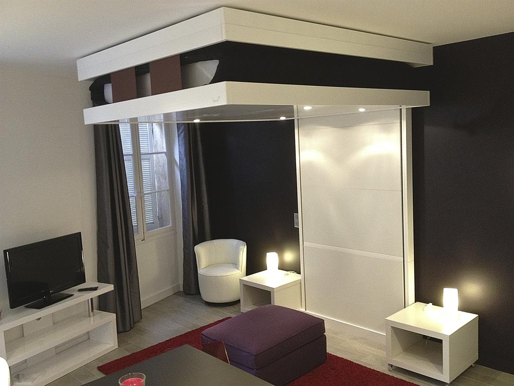 Des astuces pour optimiser l'espace d'un petit studio sans mezzanine