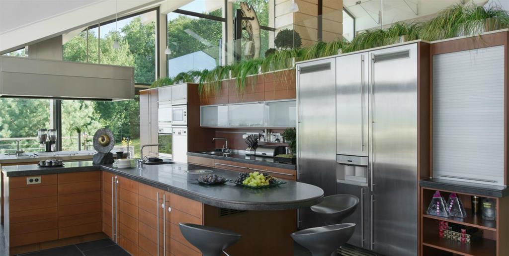 Grande cuisine en communion avec la nature maison dupin for Grande cuisine design