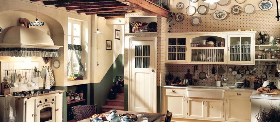 Buffet Cuisine Ancien. Meuble Cuisine Style Ancien Cuisine Style ...