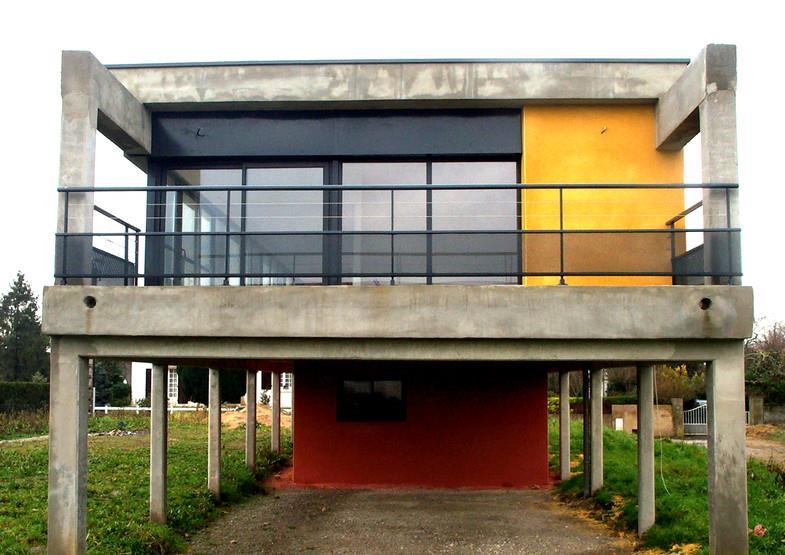 Terrasse Design Pilotis
