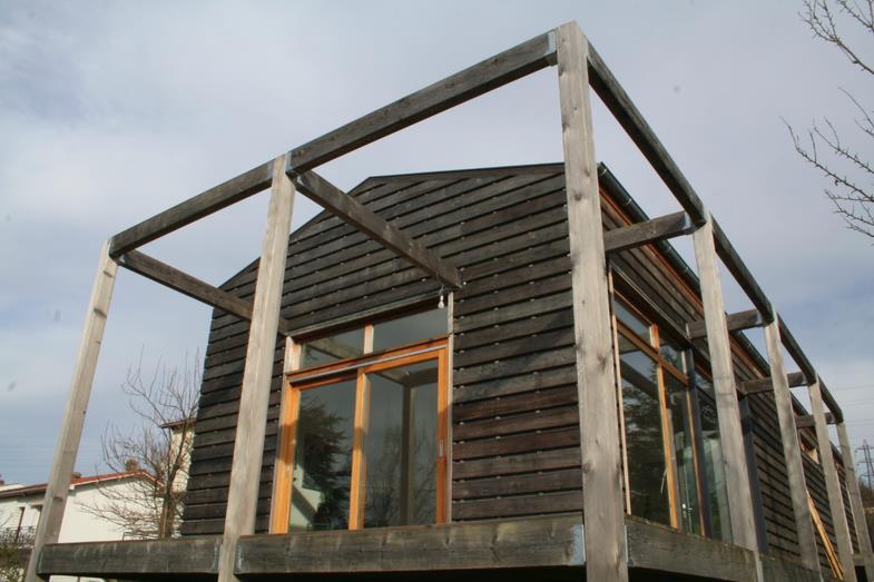 Pergola en bois pour la terrasse mcmahon co photo n 15 - Pergola en bois pour terrasse ...