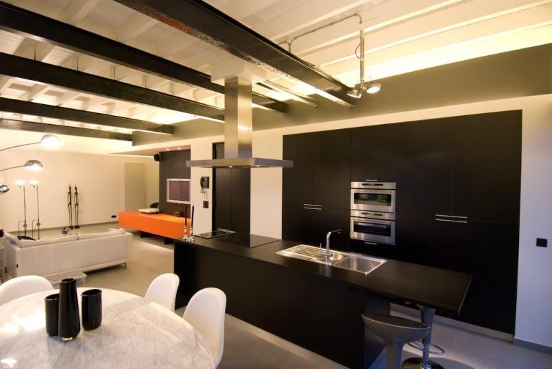 Cuisine ouverte sur la salle manger et le salon intercub for Cuisine ouverte sur salon et salle a manger