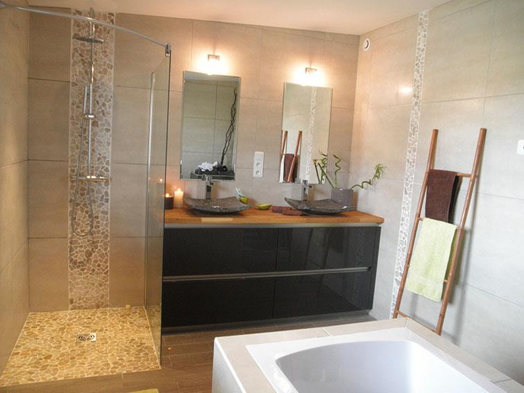 salle de bain avec douche italienne moderne ? chaios.com - Salle De Bain Moderne Avec Douche Italienne