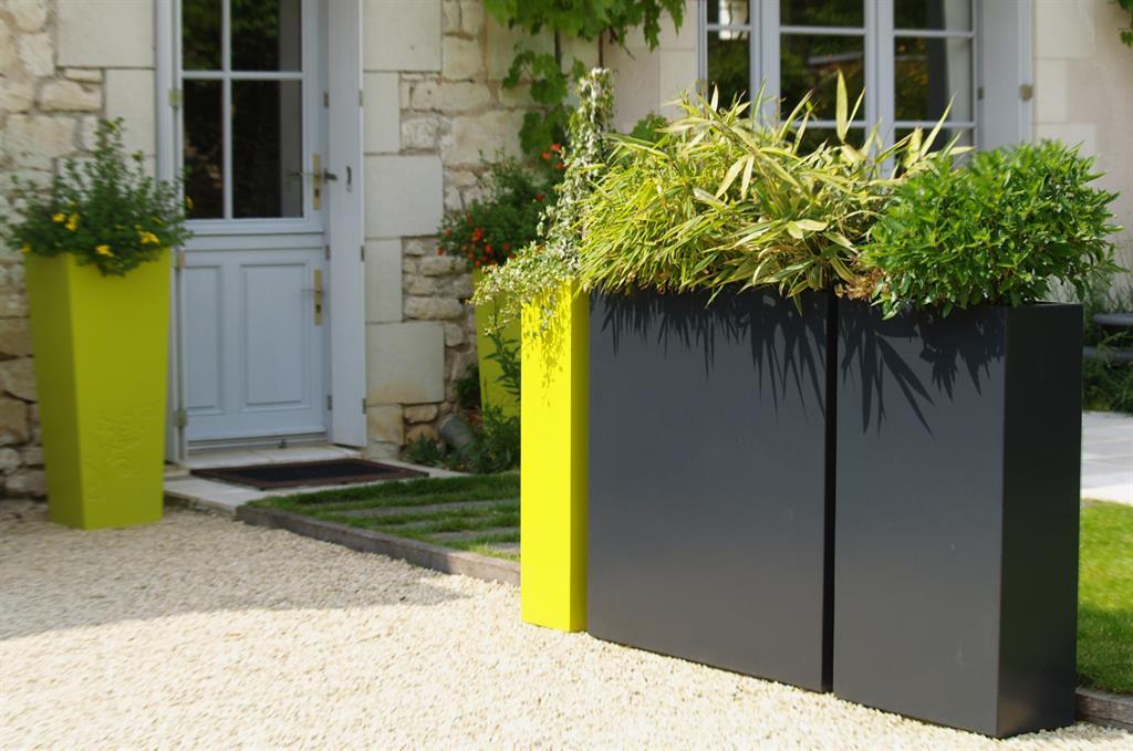 Jardins tourangeaux - Plante brise vue en bac ...