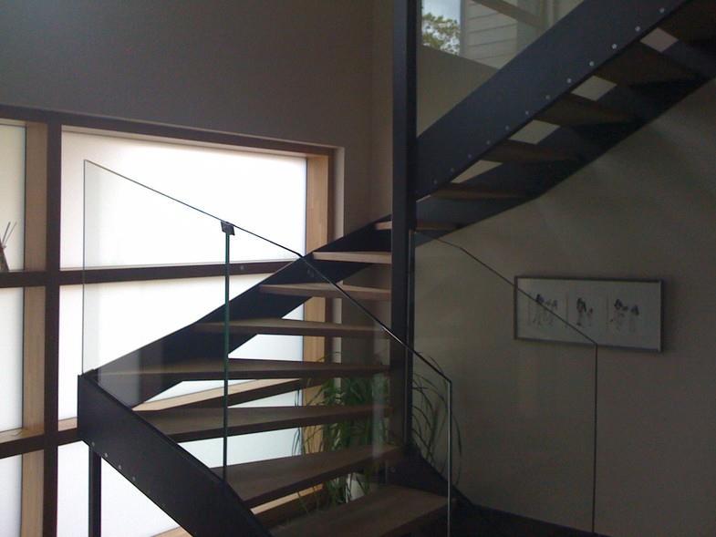 Escalier demi tournant en acier delphine vidal photo n 80 - Escalier demi tournant ...