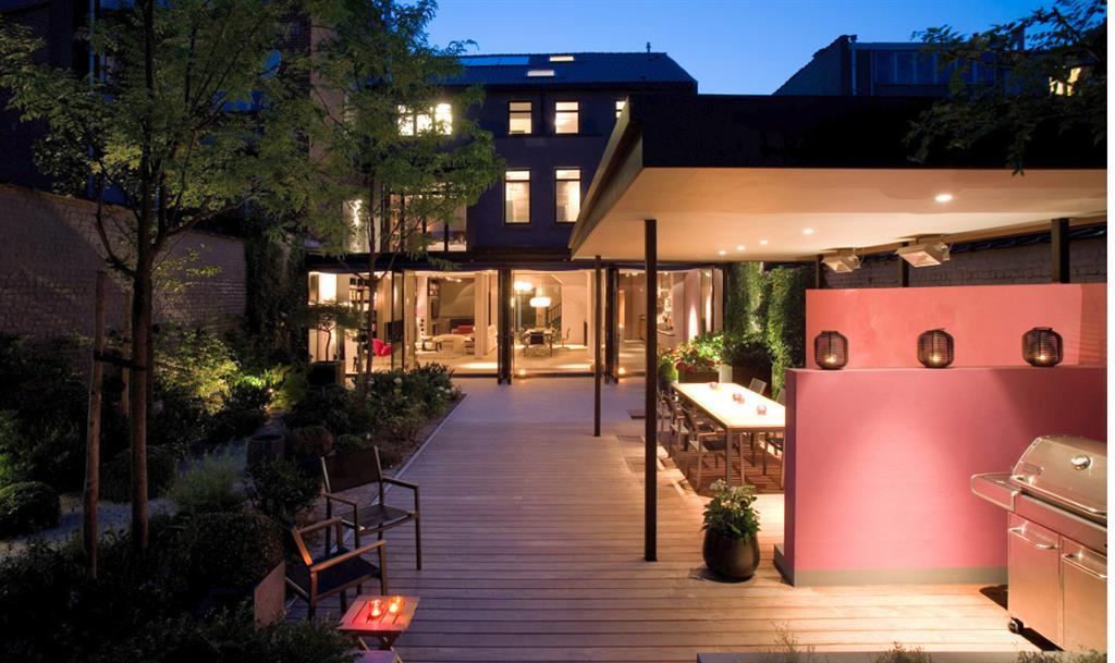 Eclairage d 39 ext rieur sur la terrasse greenarch photo n 36 - Eclairage exterieur contemporain ...