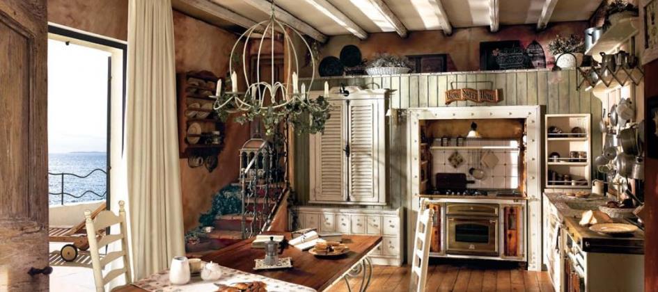 Deco Chambre Orientale : Cuisine Vintage Blanche Cuisine Vintage Entièrement