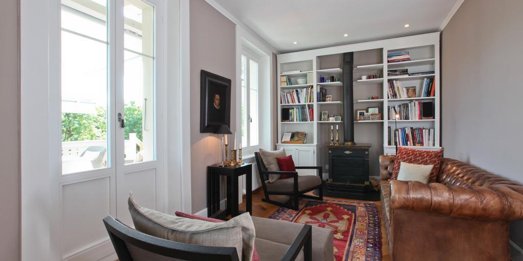Deco Salon Avec Poele. Appartement Deco Scandinace Pastel Poele A