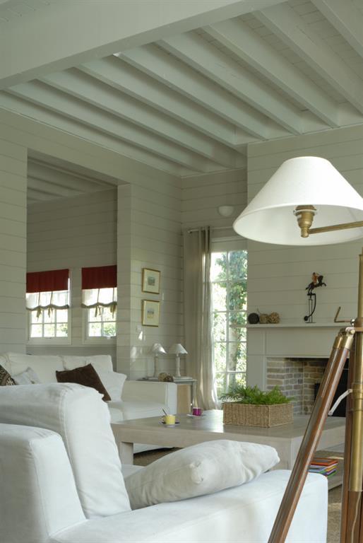 Maison style nouvelle angleterre - Maison peinte en gris ...