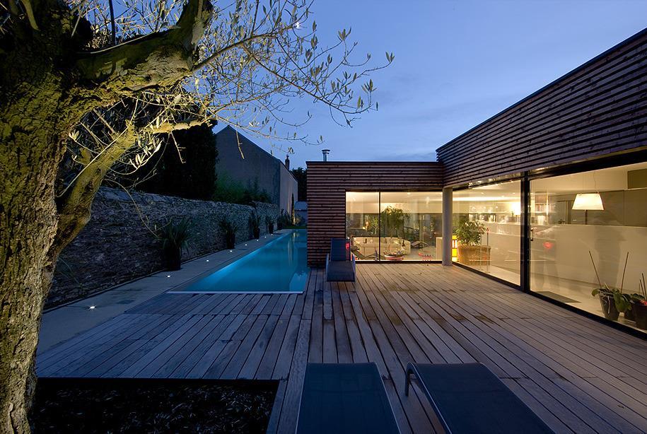 piscine en longueur jacques boucheton photo n 78 domozoom. Black Bedroom Furniture Sets. Home Design Ideas