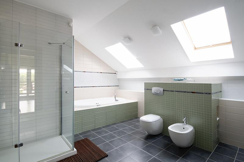 Salles de bain for Salle de douche avec wc
