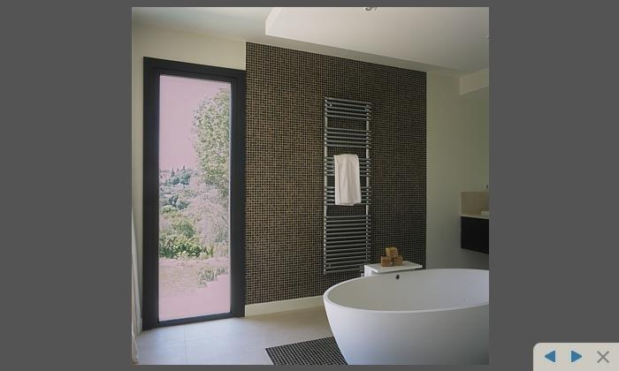 Salle de bain mosa que marron david price design photo n 76 - Salle de bain en mosaique ...
