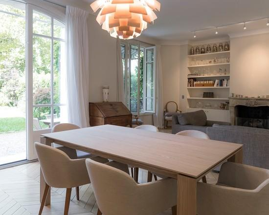 lustre bois design salle a manger lustre moderne and - Lustre Salle A Manger