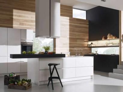 Deco Cuisine Blanc Et Noire Cuisine Blanche Mur Jaune Cuisine Mur