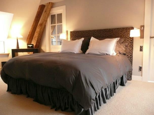 sisal ou jonc de mer chambre design pour chambre en bois moderne 220635 chambre - Chambre Avec Jonc De Mer