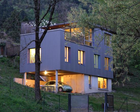 Maison Moderne Beton  ChaiosCom