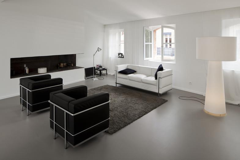 salon noir contemporain 248981 salon design et contemporain salon - Salon Contemporaine