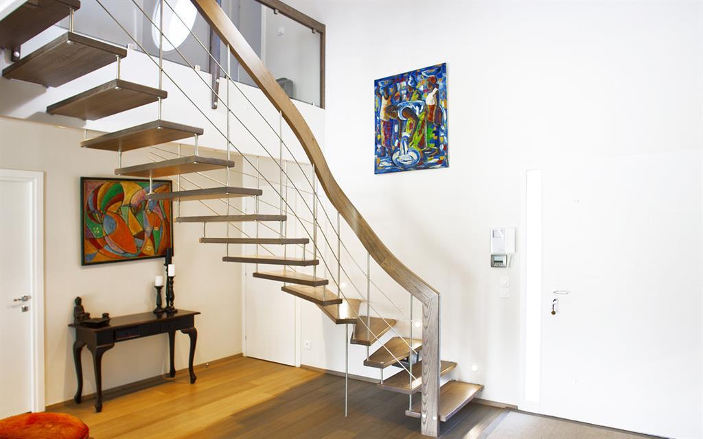 6 escaliers ultra design par emmanuelle lartilleux - Escalier design bois metal ...