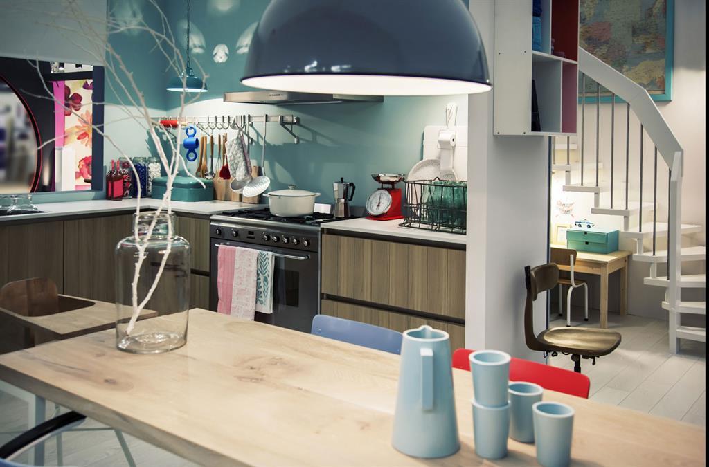 cuisine color e style vintage gosni design photo n 14. Black Bedroom Furniture Sets. Home Design Ideas