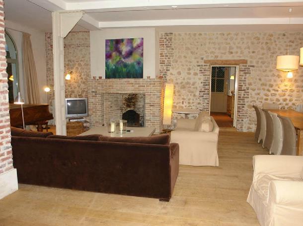 Beautiful Salle De Bain Ouverte Sur Salon Photos  Antoniogarcia