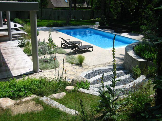 Souvent Amenagement Piscine Terrain En Pente - Inspiration du blog FC71