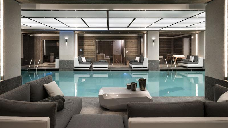 Piscine int rieure il volume photo n 25 domozoom - Piscine interieure design ...