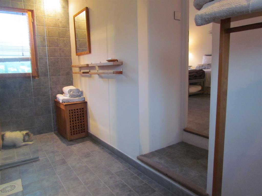 Salle de bain contemporaine bois – lombards