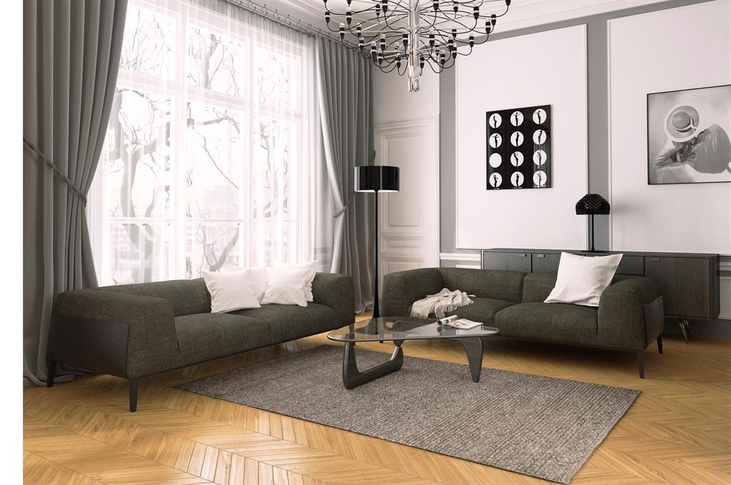Beautiful Salon Avec Rideau Noir Images - Awesome Interior Home ...