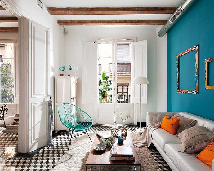 Mur Bleu Turquoise Et Gris Finest Chambre Bleu Marine Et Blanc Avec