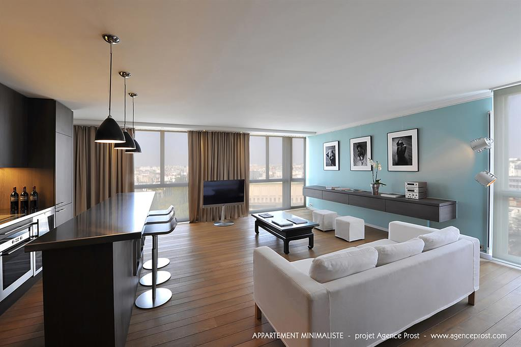 Appartement minimaliste for Vivre minimaliste