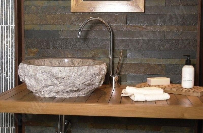 6 lavabos design en pierre pour une ambiance min rale par marion arnoud loherst. Black Bedroom Furniture Sets. Home Design Ideas