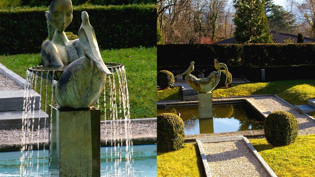 D coration fontaine jardin moderne nancy 18 fontaine de jardin solaire fontaine le comte - Fontaine jardin moderne tourcoing ...