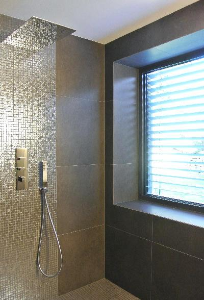 Best photo salle de bain mosaique photos amazing house - Salle de bain contemporaine grise ...