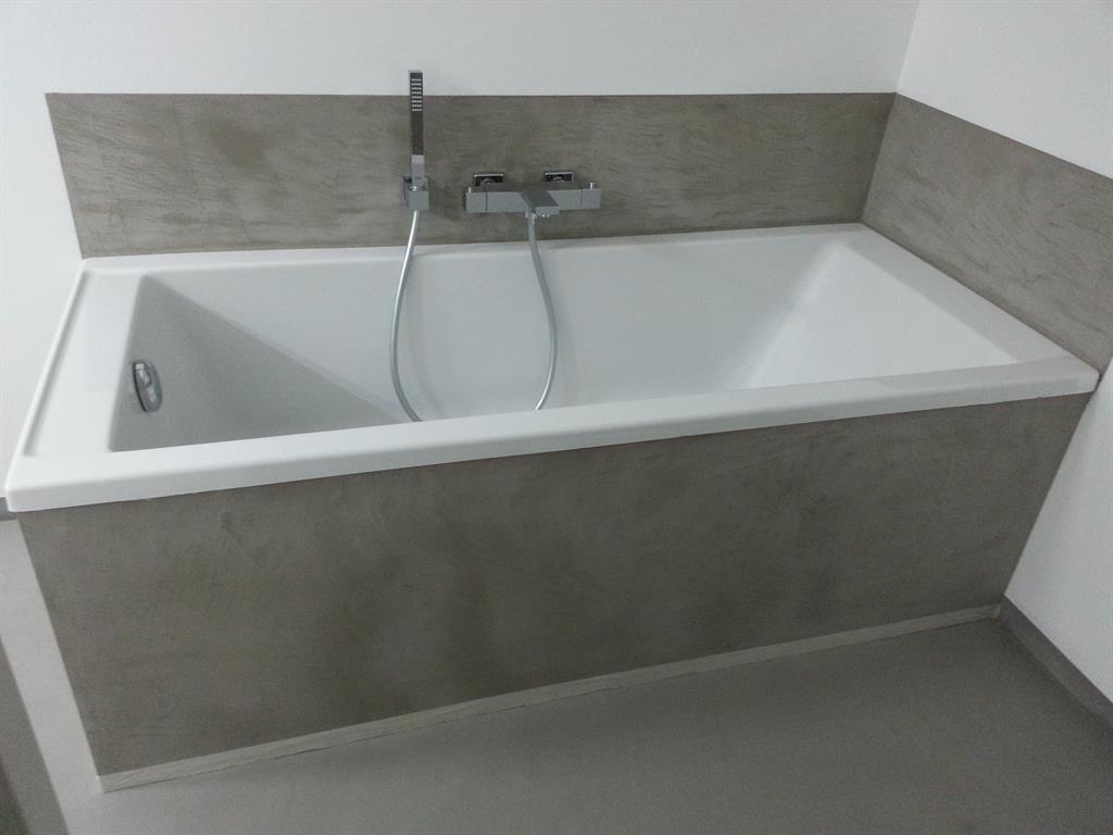 beton cire salle de bain sur faience - Beton Cire Sur Carrelage Salle De Bain