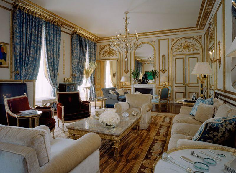 image grand salon de style classique alberto pinto - Decoration Salon Classique