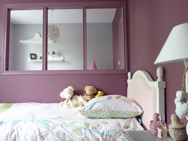 Beautiful Peinture Chambre Fille Mauve Gallery  Amazing House