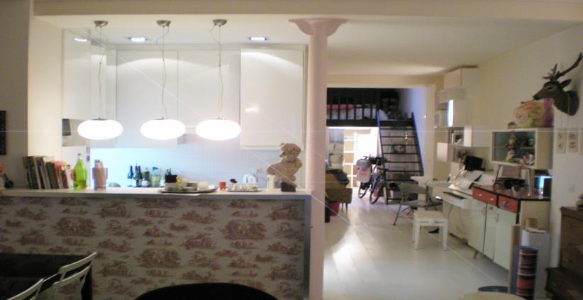 Idee Cuisine Ouverte Sejour Une Cuisine Ouverte Dans Une Maison Qui