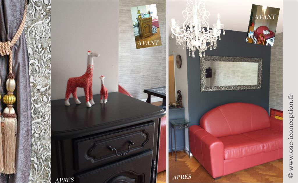 relooking de meuble. Black Bedroom Furniture Sets. Home Design Ideas
