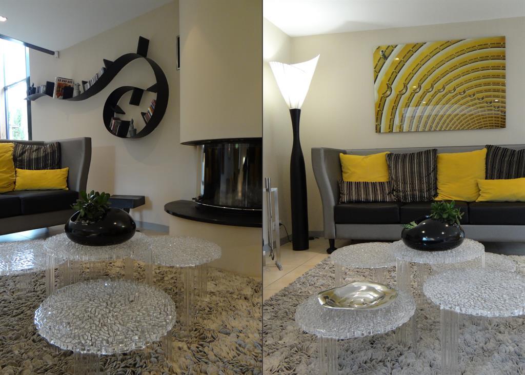tables basses verre bris kartell au salon un amour de maison. Black Bedroom Furniture Sets. Home Design Ideas