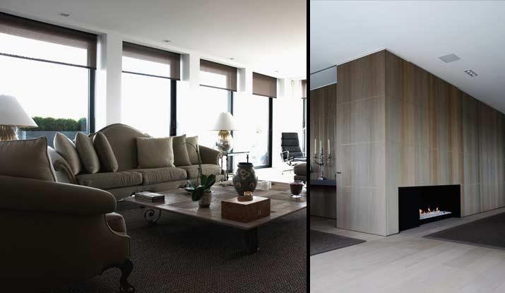Chambre Bleu Marine Et Beige : Salon Moderne Taupe  398992salonmodernesalonmoderneauxteintes