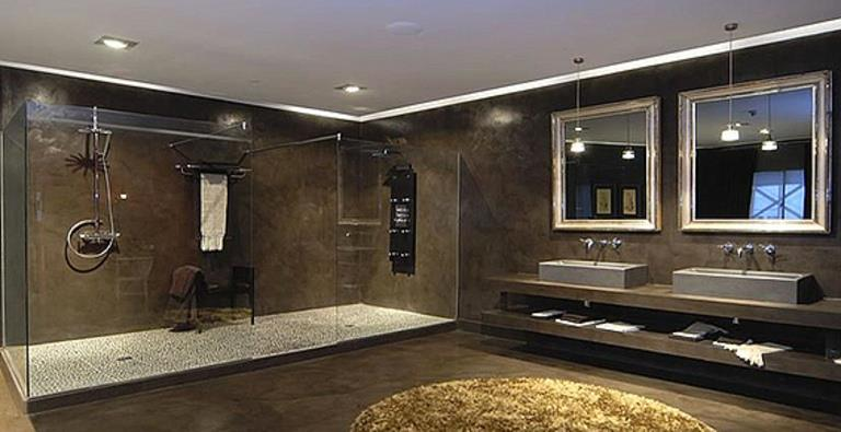 salle de bain contemporaine luxe avec des id es int ressantes pour la conception. Black Bedroom Furniture Sets. Home Design Ideas