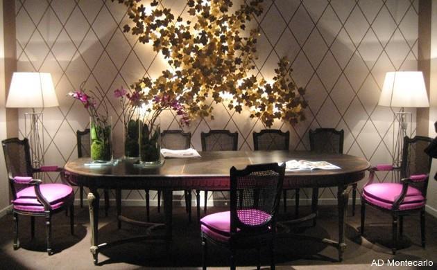 Salle Manger De Style Classique Avec Table Ovale