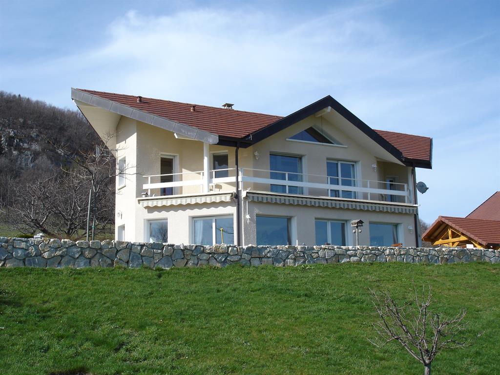 villa avec toiture pans casss les maisons andre roldez - Maison Moderne Avectoiture