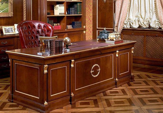 d coration bureau classique. Black Bedroom Furniture Sets. Home Design Ideas