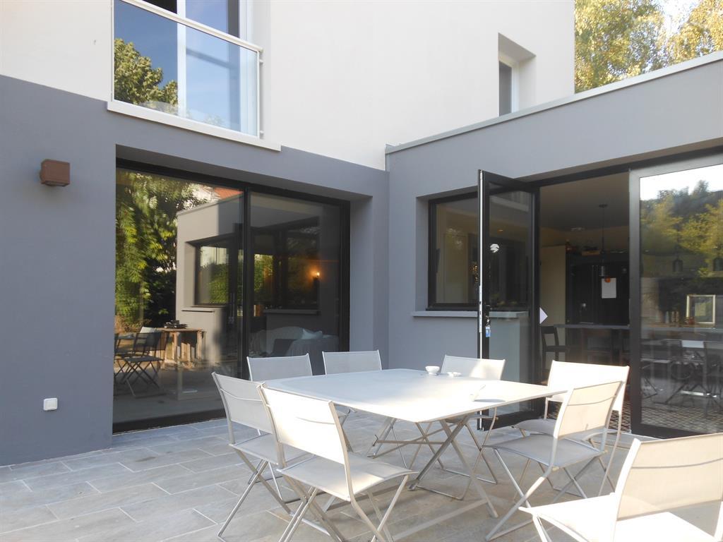 R novation maison ann e 50 - Maison grise et blanche ...