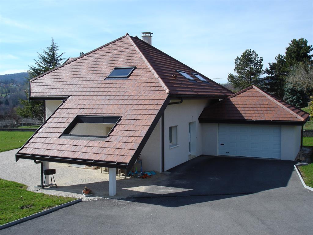 villa avec toiture ajour e les maisons andre roldez