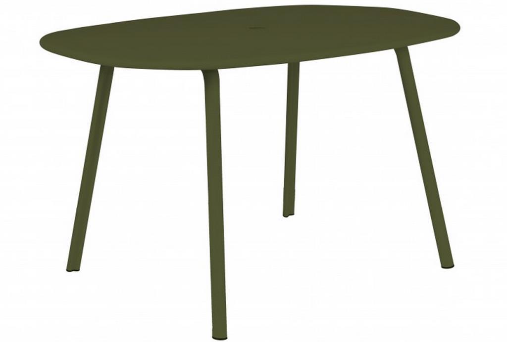 Table De Jardin En Aluminium Blanche : Mobilier de jardin  de nouvelles matières pour relooker sa terrasse